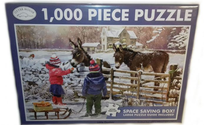 Little Donkey Landscape 1000 Piece Jigsaw